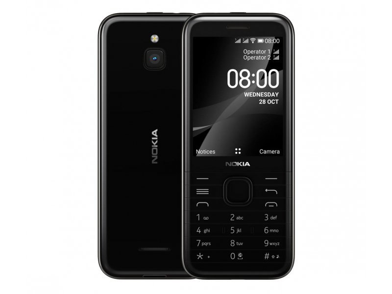 Telefon Nokia 8000 4G DS Black